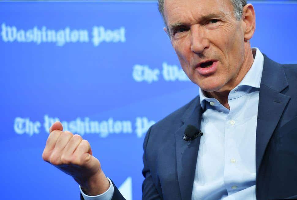 Tim Berners-Lee oggi. credits: cnet.com