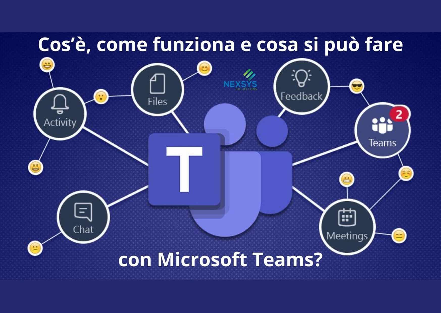 Cos'è come funziona e cosa si può fare con Microsoft Teams?