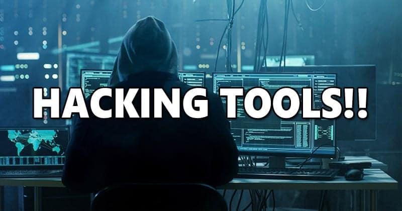 Hacking tools and hackerimage