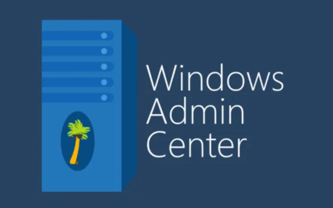 Aggiornamento Windows Admin Center 1910.2
