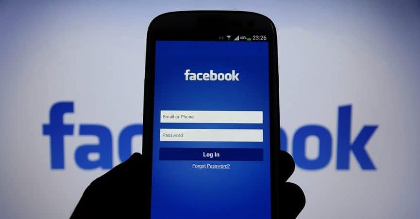 Login facebook from mobile