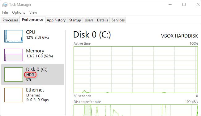 disk type update