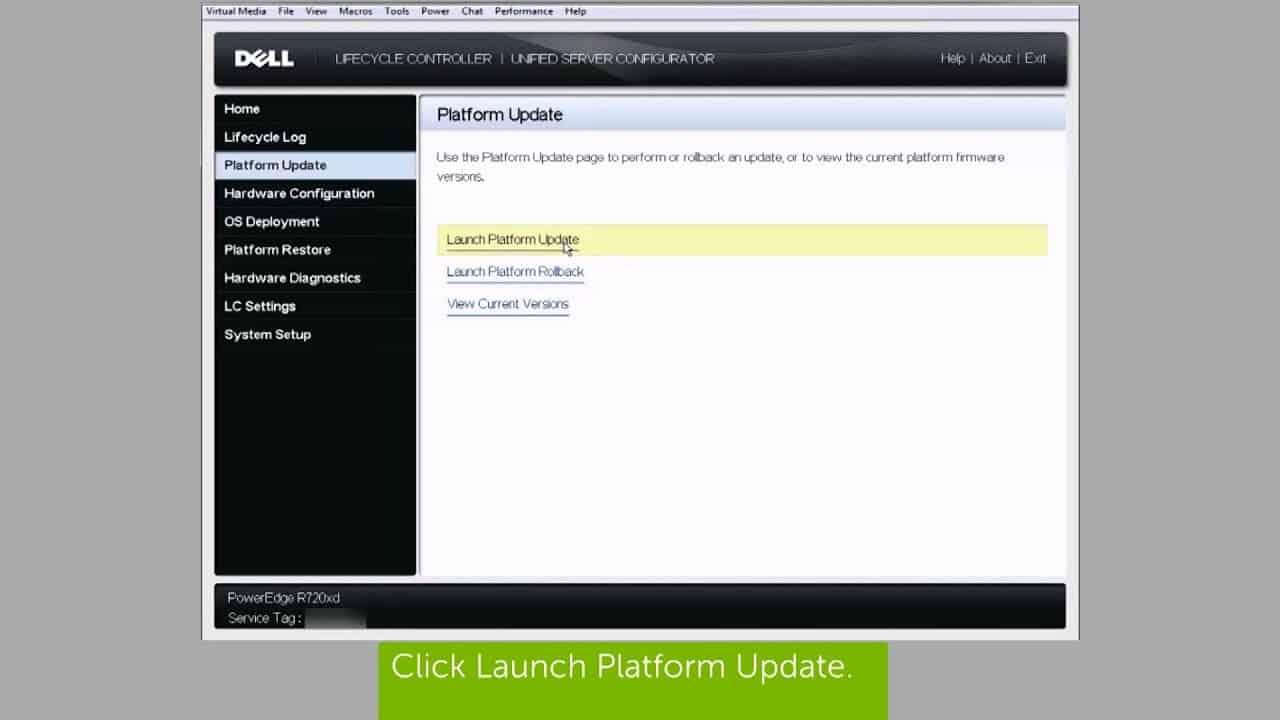 server update utility