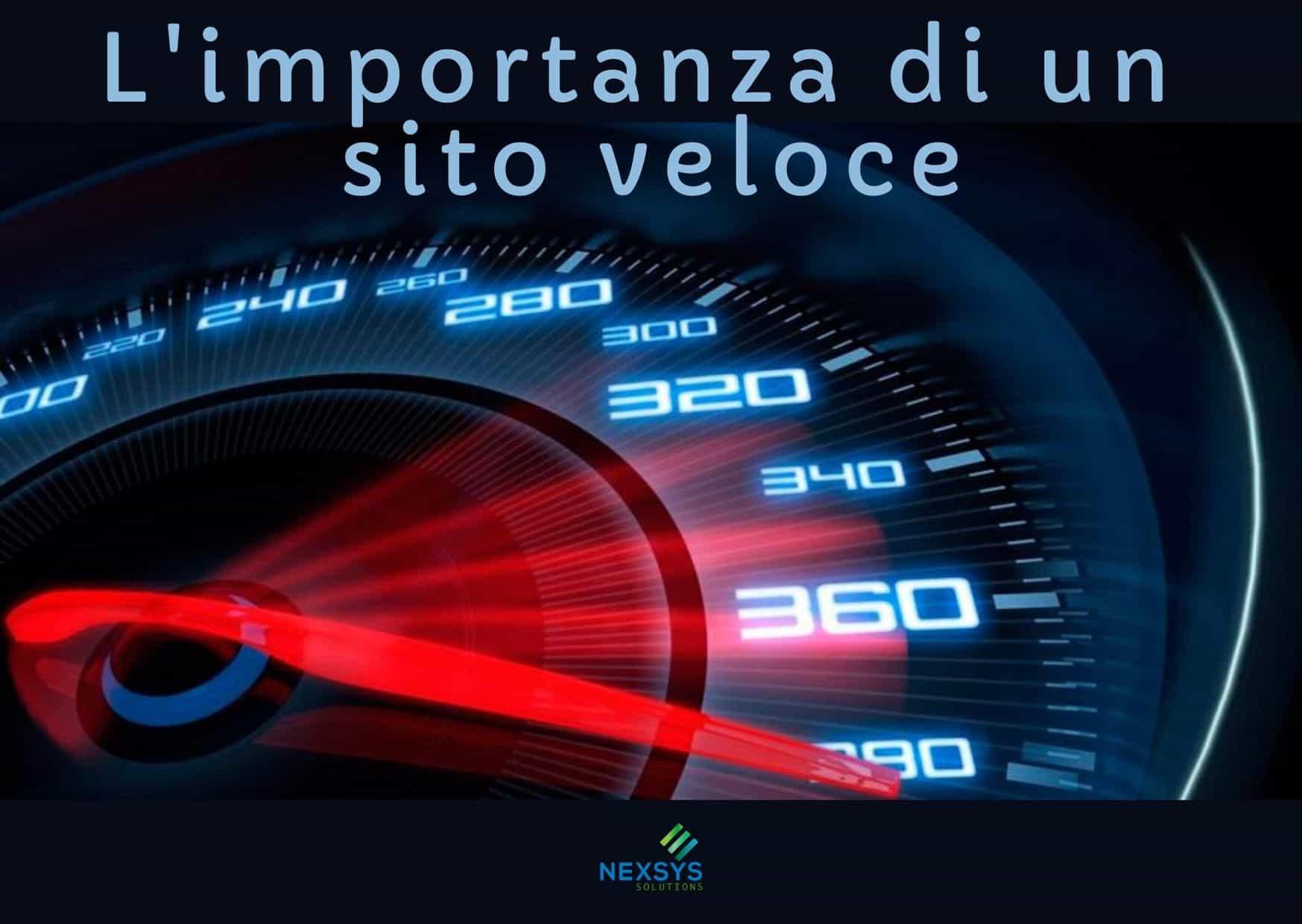 L'importanza della velocità di un sito web