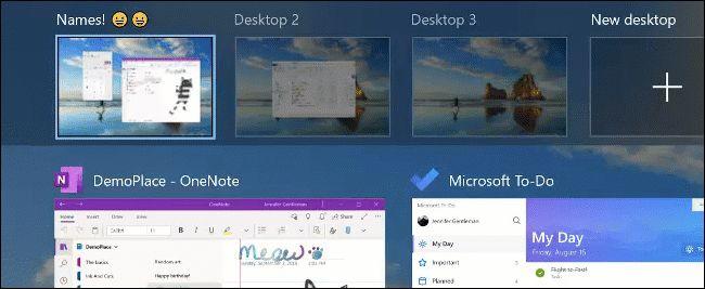virtual desktop rename
