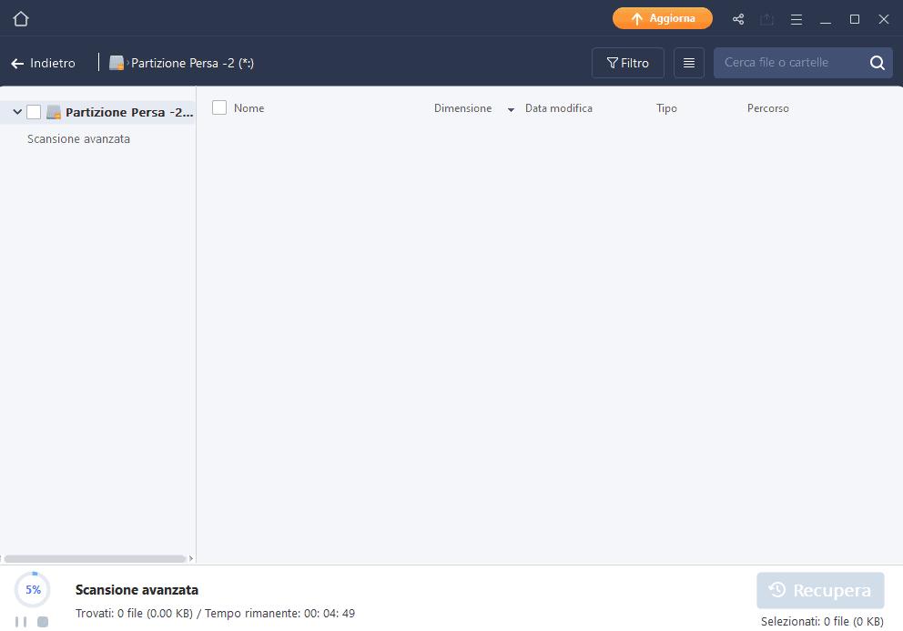 Easyus data recovery wizard recuperare file cancellati