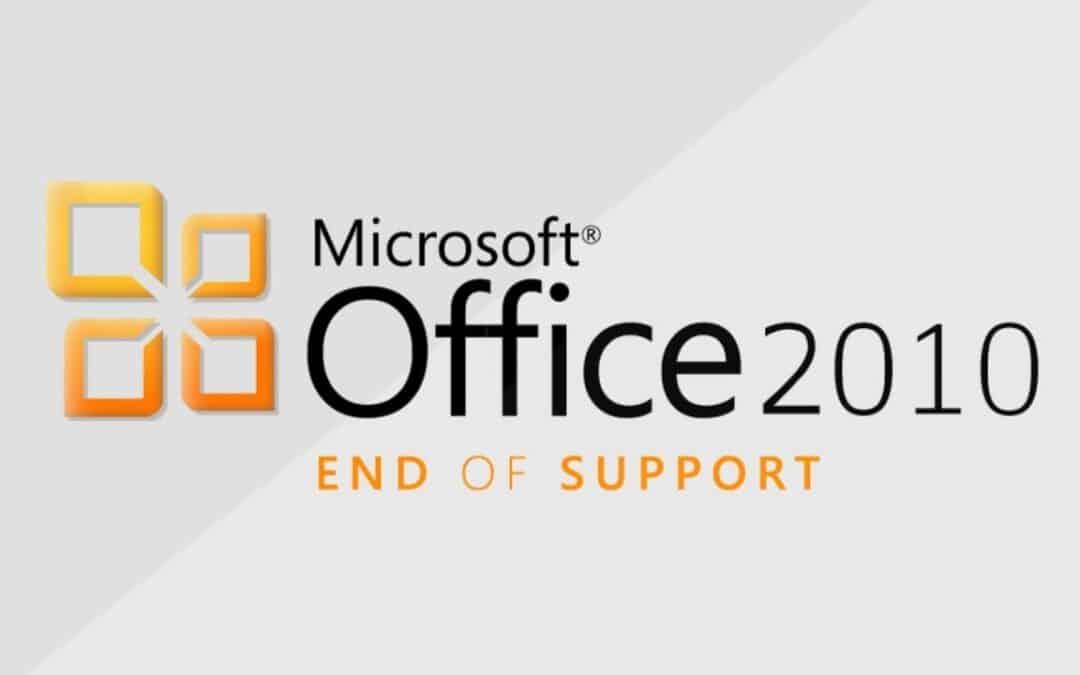 fine del supporto office 2010
