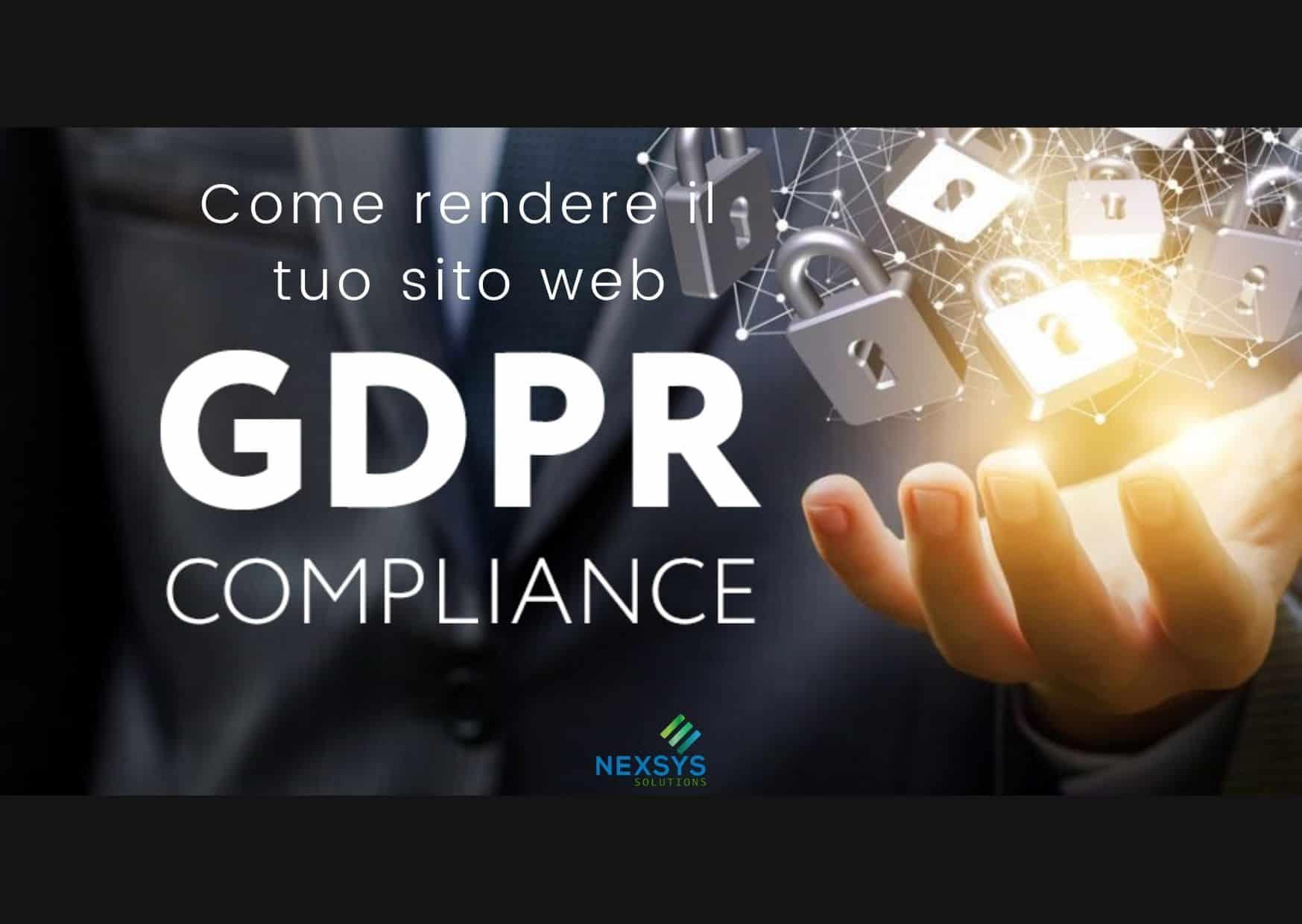 10 punti per rendere compliance il tuo sito web al GDPR