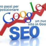 10 passi per posizionare un nuovo sito in Google