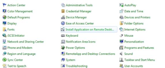 RemoteApp - Installazione applicazione