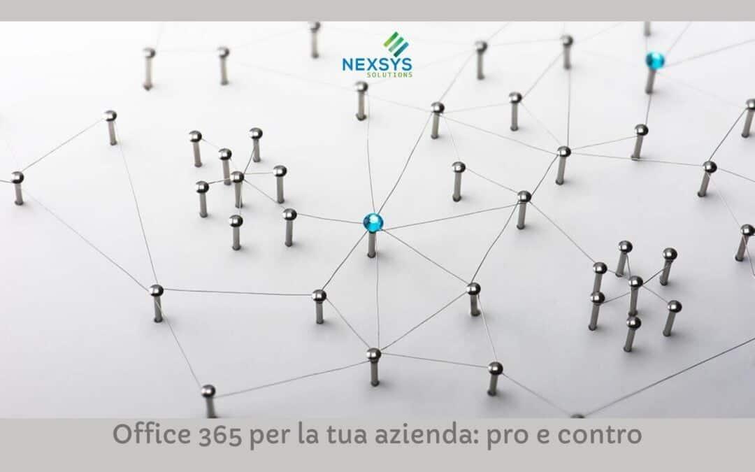 Office 365 per la tua azienda: pro e contro