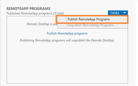 Pubblicazione RemoteApp