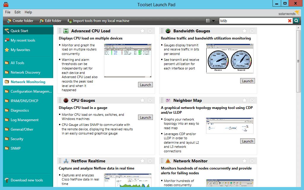 solarwind ping monitor