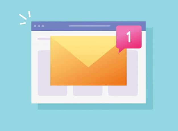 Notifica messaggio di posta