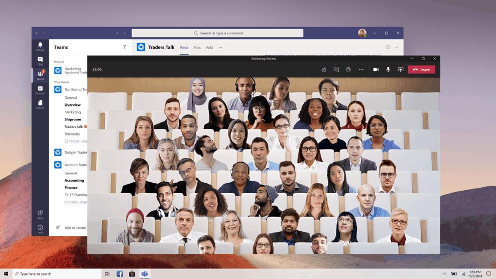 Microsoft Teams: nuova esperienza per le chiamate e le riunioni