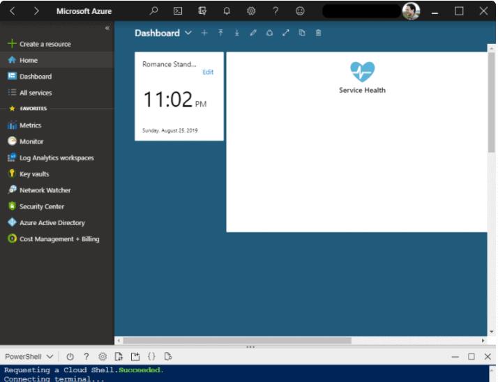 Azure portal App Experience