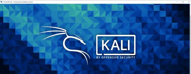 Kali in RDP