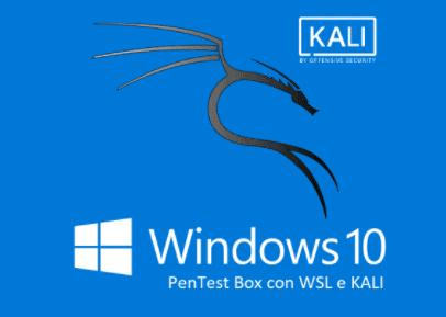 Kali su Windows 10