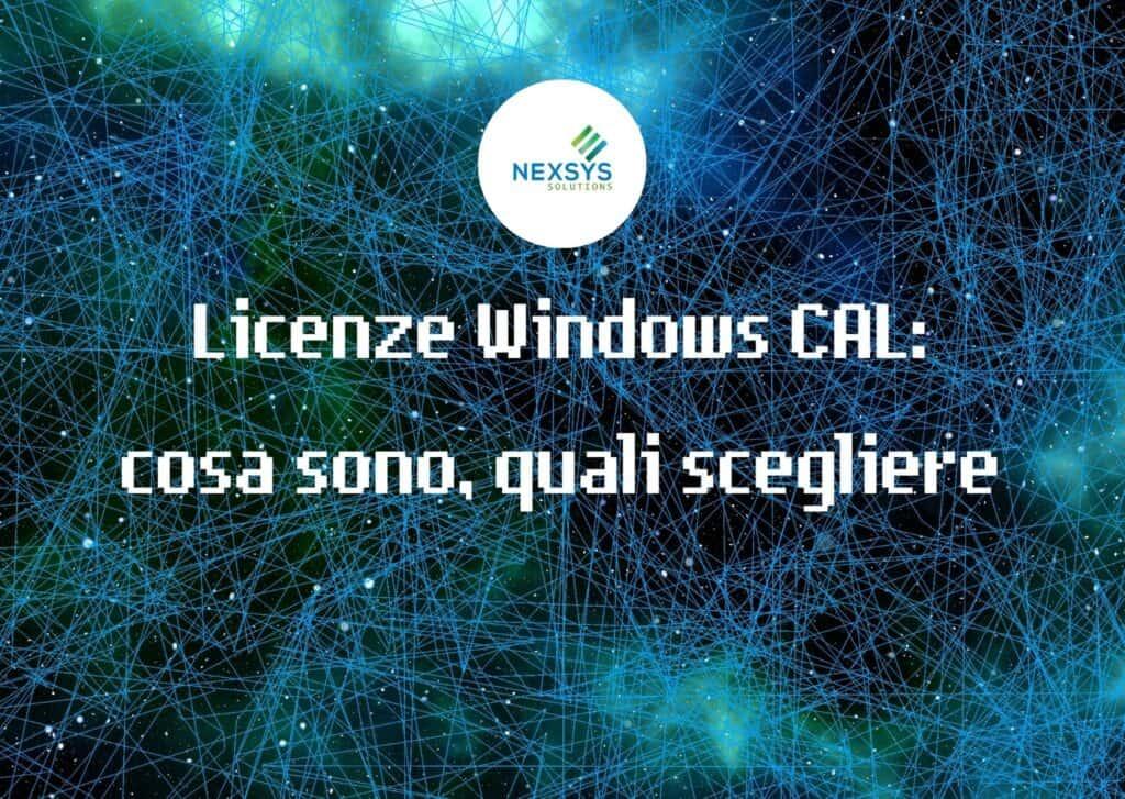 Licenze Windows CAL