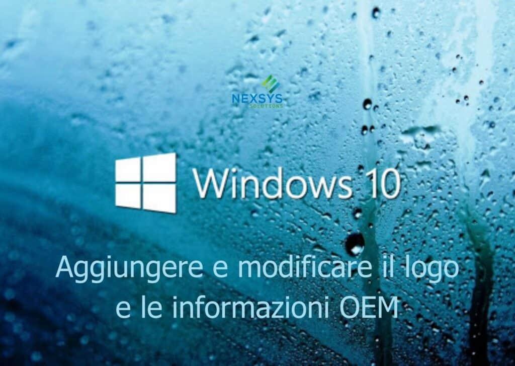 OEM in Windows