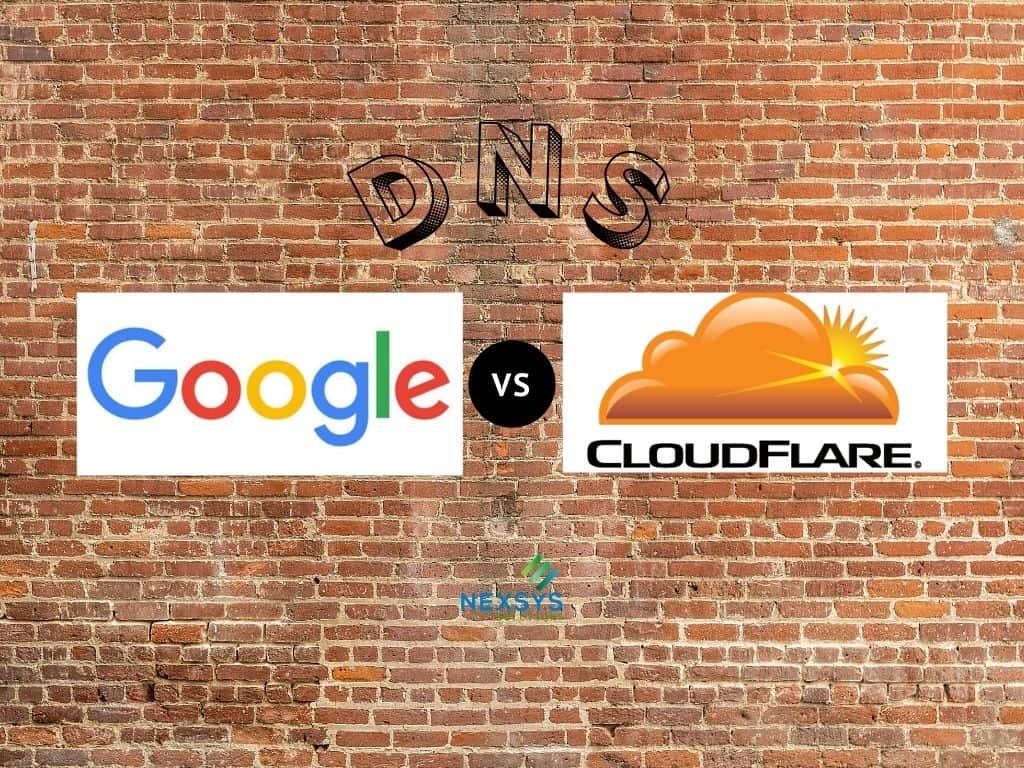 Dns Google 8.8.8.8 vs DNS Cloudflare 1.1.1.1