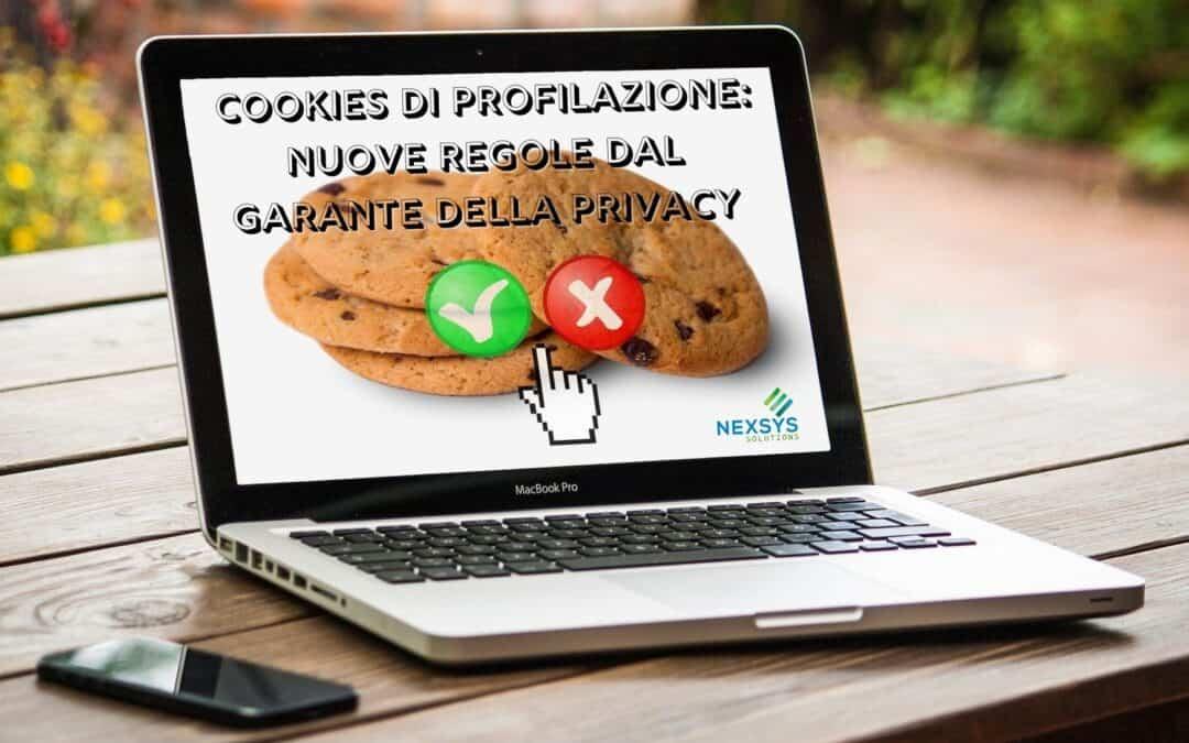 Cookies di profilazione nuove regole dal Garante della Privacy