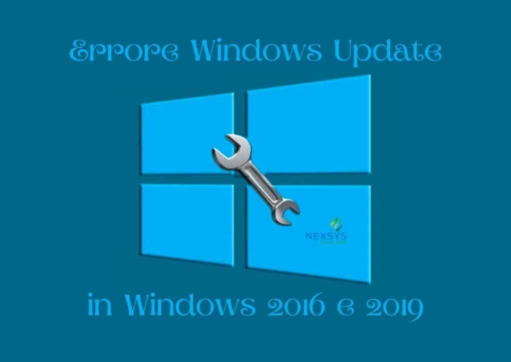 Errore Windows Update