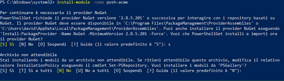 Install-Module -Name Posh-ACME