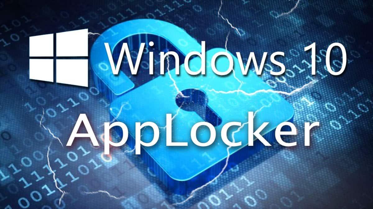 Windows 10 Applocker