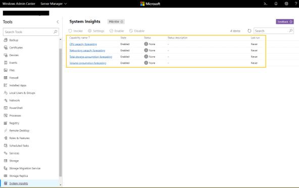 Windows Server 2019: System Insights - Consulenza IT - Nexsys