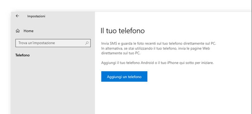 Il tuo telefono: con Windows 10 è possibile collegare il telefono al PC - Consulenza IT - Nexsys